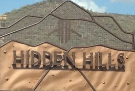 Hidden Hills Entrance